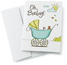 $50 Gift Card in a Greeting Card (Oh, Baby! Design): Amazon.com: Gift Cards