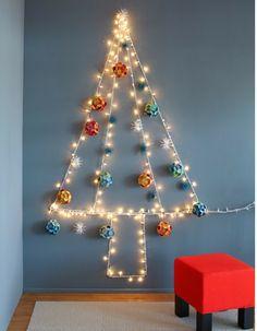 alternative christmas tree lights. Eens een andere boom? Wat dacht je van deze boom? www.KIXX-Safety.nl voor fijne klushandschoenen.