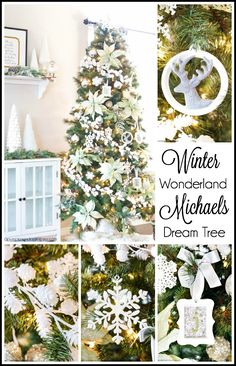Winter Wonderland - Michaels Dream Tree Challenge