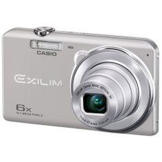 Cámara Digital Casio ZS20 26mm 6X 16Mp 2.7 pulgadas HDV Sil + funda + 2GB