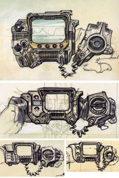 fallout 4 character concept art - Google Search
