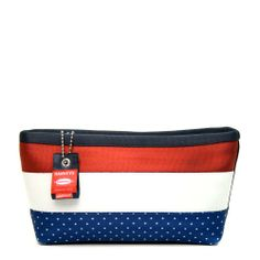 Harveys Seatbelt Large Makeup Case Red, White, and Blue Large Makeup Case, Harvey Seatbelt Bags, Cosmetic Case, Large Bags, Bag Accessories, To My Daughter, Purses, My Style, Blue