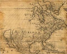 Map of North America, 1650. (Library of Congress, Geography and Map Division [G3300 1650.S3])