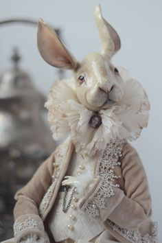 Reserve The Rabbit Edward. Online shopping on My Livemaster. Reserve The Rabbit Edward. Online shopping on My Livemaster. Pet Toys, Doll Toys, Rabbit Art, Bunny Art, Toy Art, Animal Sculptures, Soft Sculpture, Felt Animals, Fabric Dolls