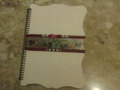 caderno grande - capa MDF