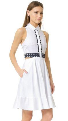 Jonathan Simkhai Платье-рубашка с вырезами