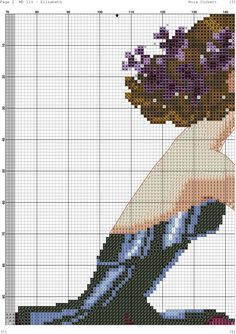 Elizabeth 8 Fantasy Cross Stitch, Cross Stitch Angels, Counted Cross Stitch Patterns, Cross Stitch Designs, Pixel Crochet, Wedding Cross Stitch, Cross Stitching, Embroidery Patterns, Needlework