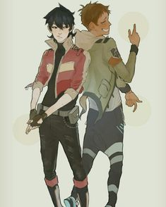 VLD fanart - Keith and Lance Space Ranger Partners
