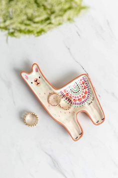 Llama Love Santa Fe Trinket Dish I have this and it's too cute