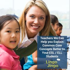 Complex Common Core concepts made easy for #ESL & ELL students with easy to follow tutorials at http://lingojingo.com/
