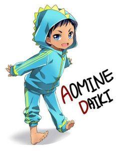 Daiki Aomine Aawww kawaii!