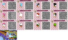 1000 images about heloo kitty on pinterest animal for Animal crossing mural