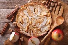 A large apple pancake.