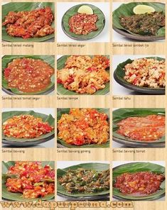 Need a recipe? Az Recipes Get breakfast, lunch, dinner, dessert on the table with recipes for cooking. Sambal Sauce, Sambal Recipe, Indonesian Cuisine, Indonesian Recipes, Gourmet Recipes, Healthy Recipes, Drink Recipes, Easy Recipes, Malay Food
