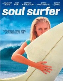 Great true story of how Bethany Hamilton got her arm bit off by a shark and chose to use that situation for good! Kids & I give it a thumbs up, we love this movie.