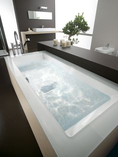 Wilmotte star of a offering endless configuration possibilities and optionals, High End Products, Girl Cave, Steam Showers, Beautiful Bathrooms, Bath Time, Master Bathroom, Bathtubs, Spaces, Outdoor Decor