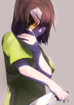 Scary Chara but I don't hate her anymore now that I know about her