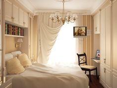 Дизайн интерьера маленькой спальни. Советы