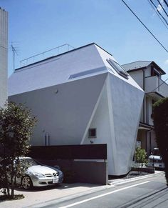 Defying the Lack of Space in Central Tokyo: BB Residence - http://freshome.com/2012/08/14/defying-the-lack-of-space-in-central-tokyo-bb-residence/