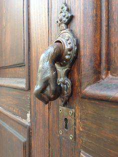door knocker in Sorento Italy