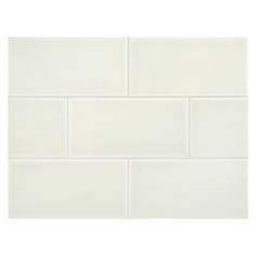"Complete Tile Collection Vermeere Ceramic Tile - Sprout - Gloss, 3"" x 6"" Manhattan Ceramic Subway Tile, MI#: 199-C1-312-021, Color: Sprout"