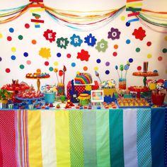Festa artes - decoração mini mimo festas