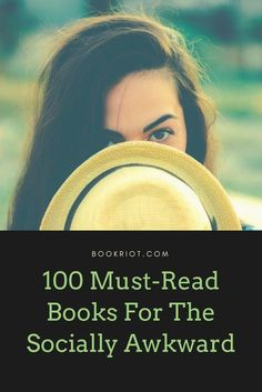 100 must-read books for the socially awkward.