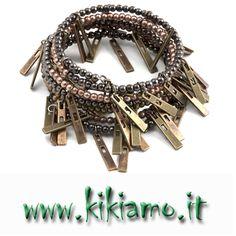 Kikiamo Franchising Accessori Moda Borse Bijoux......Collezione Bracciali