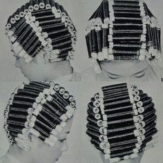 Asian Perm, Updo Styles, Hair Styles, Perm Curls, Getting A Perm, Hair Perms, Perm Rods, Roller Set, Hair Beauty