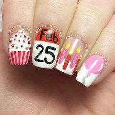 10 Cool Images of Birthday Glitter Nail Designs. Chevron and Glitter Nail Designs Birthday Nail Art Design Cute Birthday Nails Black Glitter Nail Designs Birthday Nail Art Birthday Nail Art, Birthday Nail Designs, Birthday Design, Cute Nail Designs, Acrylic Nail Designs, Acrylic Nails, Pretty Designs, Love Nails, Fun Nails