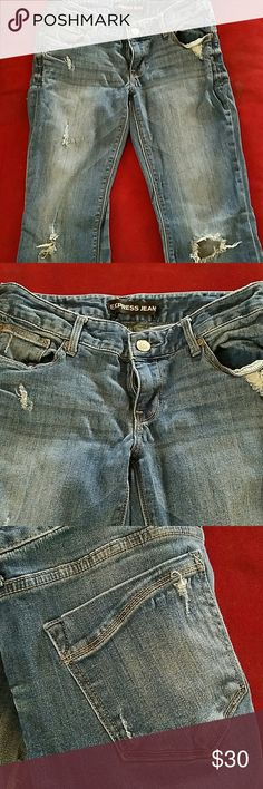 Express jeans size 6s boot cut Great condition size 6s Express Jeans Boot Cut