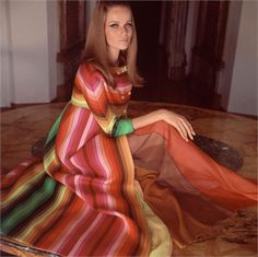 I love everything about the caftan!