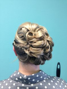 Bridal upstyle by Chasidy