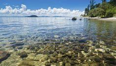 Beautiful clear water - Lake Taupo