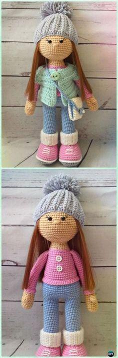 Amigurumi Crochet Molly Doll Free Pattern - Crochet Doll Toys Free Patterns