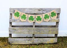 St Patricks Day, Shamrock Banner, St. Patrick's Day Decor, St Pattys Day, Saint Patricks Day, Irish Decor, Shamrock Decorations by OliviasSweetLullaby on Etsy