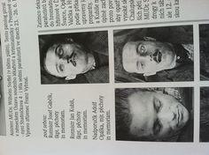 Post-Mortem photos of Josef Valčík (upper image), Jozef Gabčík (bottom left) and Jaroslav Švarc.