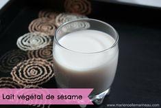 Recette de lait végétal de graines de sésame