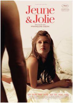 Film poster #JEUNE&JOLIE - François #Ozon. Vanaf 19-9-2013 in de Nederlandse bioscopen. #MarineVacth
