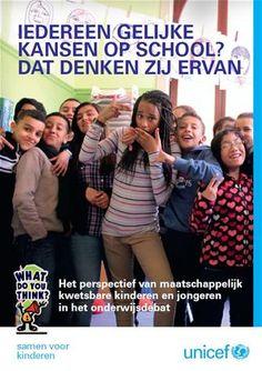 Iedereen gelijke kansen op school? : Dat denken zij ervan : het perspectief van maatschappelijk kwetsbare kinderen en jongeren in het onderwijsdebat - Buysschaert, Gaëlle - #kinderrechten #kansarmoede - plaatsnr. 390.9 /002 Physical version at KHCA: KHCA; 390.9 /002 (1 copy, 1 available)