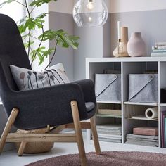 1,636 отметок «Нравится», 9 комментариев — IKEA FRANCE (@ikeafrance) в Instagram: «Le spot idéal pour se ressourcer VEDBO fauteuil haut 249€ KALLAX étagère 6 cases 65€ PUDDA…»