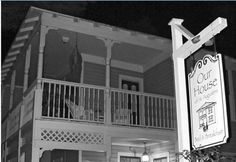 Our House of St Augustin Bed and Breakfast   St Augustine Florida   Haunted Travels USA       Ghostly events began to manifest when Dave was restoring the property before its grand opening in 2002. He started hearing knocking sounds (from the front door) when no one was there. Sometimes noises will come from within the walls and ceiling areas.