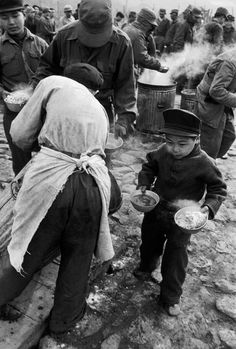 Werner Bischof / SOUTH KOREA. Koje Do island. Camp fot North Korean prisoners of war. The youngest member.