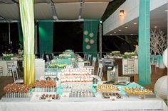 Mesa de postres para bodas de Ananda Taller Dulce Cali