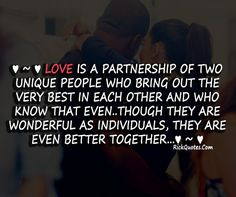 ....who bring out the BEST in each other.....  Sooooo true!!!!