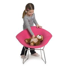 knoll kids Diamond Chair, Fully Upholstered