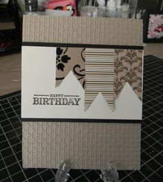 Ruth's Stamping Corner: Happy Birthday!