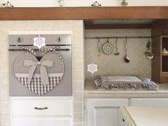 Set copriforno a forma di cuore e coprifuochi : Cucina e servizi da tavola di nellessenziale