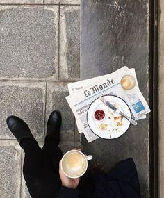 am — theglossiernerd: photo credit Thetrottergirl Coffee Cafe, Coffee Shop, Drink Coffee, Coffee Break, Morning Coffee, Sunday Morning, Regional, Latte, Old Money