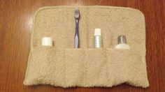 Terry Cloth Travel Roll by BizzyBeeGifts on Etsy, $8.00